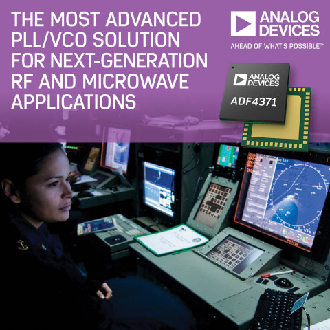 Analog Devices Introduces Industry's Most Advanced PLL/VCO Solution for Next-Generation RF, Microwave and Millimeterwave Applications (Photo: Business Wire)
