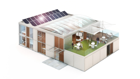Innovation Center – External (Graphic: Business Wire)