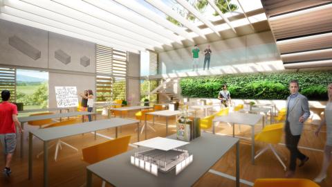 Innovation Center – Interior (Photo: Business Wire)