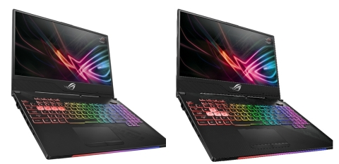 ASUS Republic of Gamers Announces Strix (GL504) Hero II and SCAR II Gaming Laptops (Photo: Business Wire)