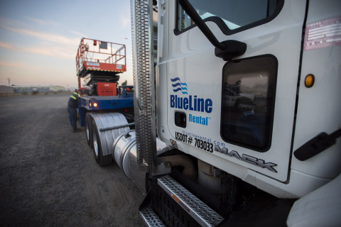 BlueLine Rental delivers fast, safe and reliable construction equipment solutions. (Photo: Business Wire)