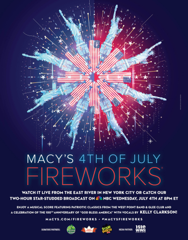 The 2018 Macy's 4th of July Fireworks, the nation's largest Independence Day celebration, will ignit ...