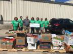 Delta Dental of Wisconsin volunteers will distribute healthy food, toothbrushes and a grant to five different food shelves across Wisconsin. (Photo: Business Wire)