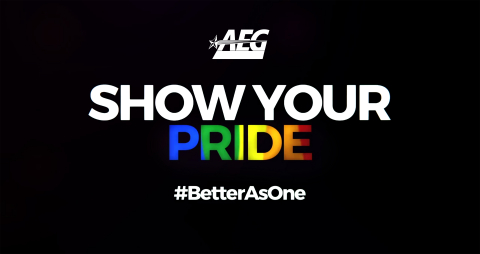 "AEG Releases ""Infinite Diversity"" Video To Support Pride Month (Photo: Business Wire)"