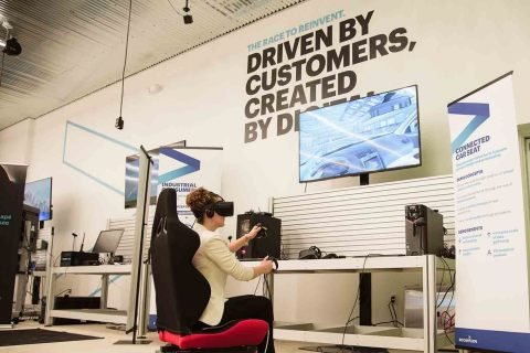 Accenture's new metro Detroit innovation hub, which specializes in Industry X.0, helps companies reimagine their business for the digital economy (Photo: Business Wire)