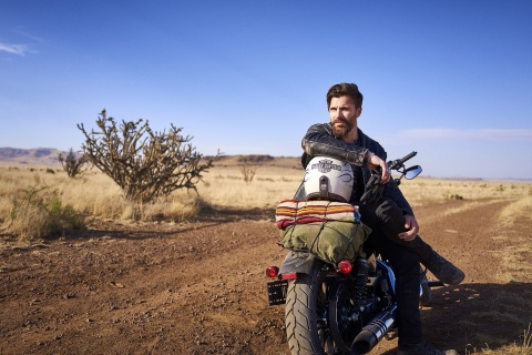 American Crew x Harley-Davidson Style for the Road Campaign