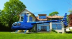 Land a Private Helicopter at this $3.15mm Connecticut Waterfront Property. Easy 30 minute commute to Manhattan. (Photo: Business Wire)