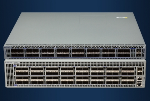 The Arista 7170 Series, the latest multi-function platform for cloud networking. (Photo: Business Wi ...