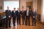 Representatives from IMS International, Politecnico di Milano, and Confindustria Lombardia at the World Manufacturing Foundation Signing Ceremony (Photo: Business Wire)