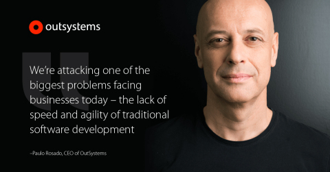 OutSystems Raises $360 Million in an Investment from KKR and Goldman Sachs (Photo: Business Wire)