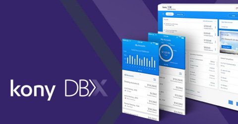 Excited to introduce KonyDBX - the Next-Generation Digital Banking Experience Platform & Application Suite to empower banks & credit unions to accelerate their digital roadmap (Graphic: Business Wire)