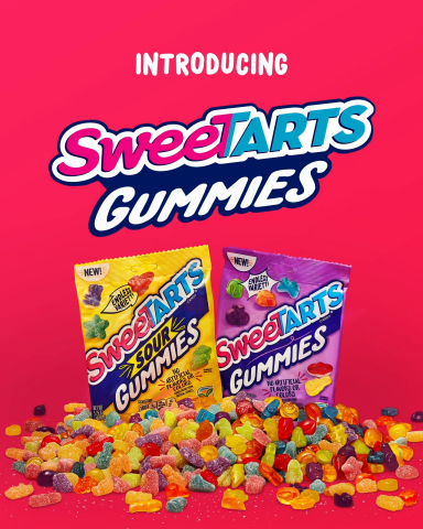 New SweeTARTS Gummies (Graphic: Business Wire)