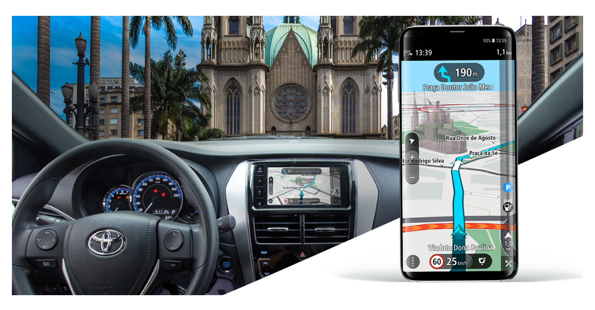 TomTom and Toyota to Offer Drivers a Navigation App that