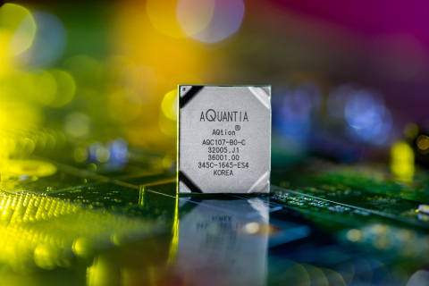 The Aquantia AQtion AQC107 Provides Multi-Gig Capabilities to Network Attached Storage (Photo: Business Wire)