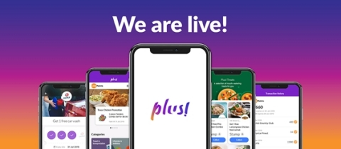 Plus! Mobile App now available on both Google Play and iTunes stores (Graphic: Business Wire)