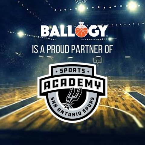 Ballogy Official Testing to be offered at Spurs Basketball Camps, Clinics, and Nationals Tournaments (Photo: Business Wire)