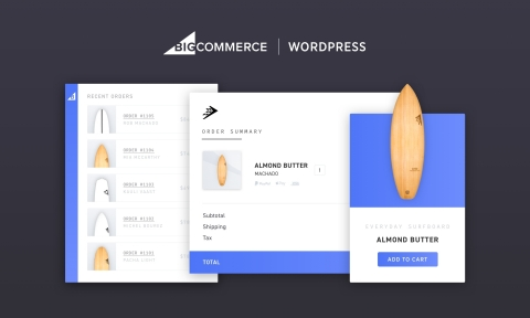 BigCommerce for WordPress combines the content flexibility of the WordPress platform with BigCommerce's powerful commerce engine running the back-end. (Photo: Business Wire)