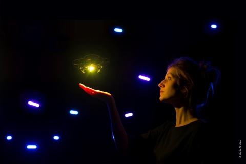 Verity Studios' Drones in Action (Photo: Business Wire)