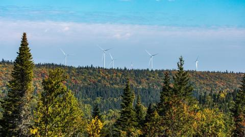 Nicolas-Riou Wind Project (Photo: Business Wire)