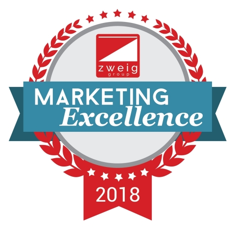 Zweig Group Marketing Excellence Award - 2018 (Graphic: Business Wire)
