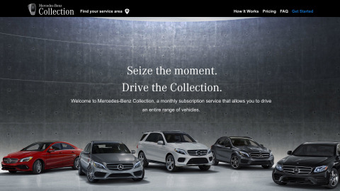 Mercedes-Benz Collection (Photo: Business Wire)