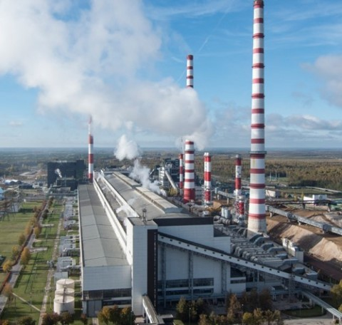 Picture of Enefit's Narva Power Plant