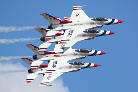 U.S. Air Force Thunderbirds Demonstration Squadron (Photo: Business Wire)