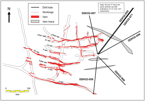 Figure 2: Recent Drilling in the Upper Country Lead Zone (Graphic: Business Wire)
