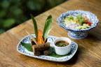 Impossible Thai Spicy Country Sausages at Hotel ICON's GREEN (Photo: Business Wire)