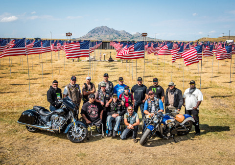 Indian Motorcycle Sponsors Fourth Annual Veterans Charity Ride to Sturgis (Photo: Business Wire)