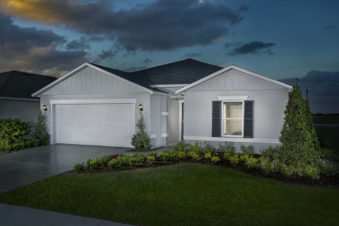 New KB homes now available in Lakeland, Florida. (Photo: Business Wire)