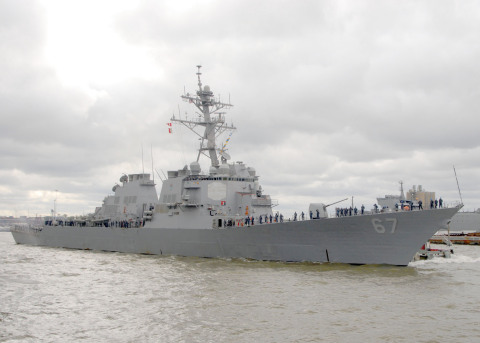 BAE Systems will modernize the guided-missile destroyer USS Cole (DDG 67) under a new 36.6 million contract from the U.S. Navy. (Photo: U.S. Navy)