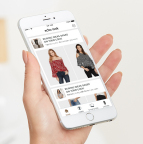 Let Echo Look recommend items that pair well with clothes you already own. (Photo: Business Wire)