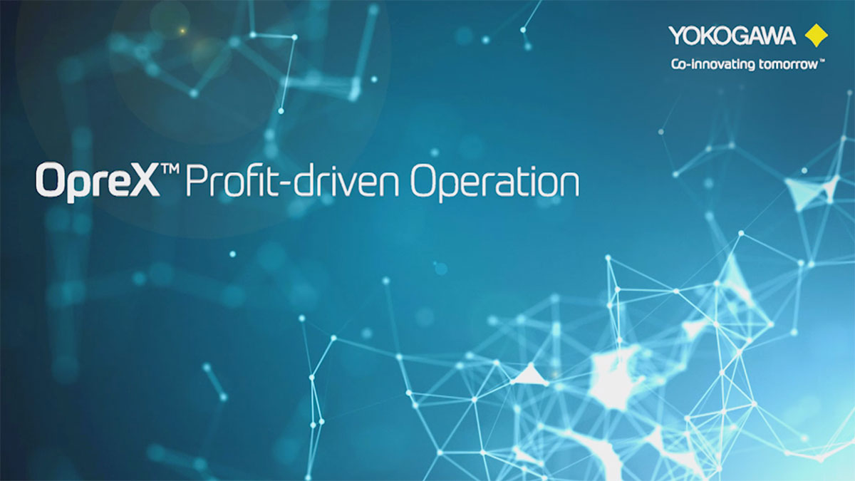 Yokogawa director Satoru Kurosu introduces OpreX Profit-driven Operation, a solution for process industries that drives seamless alignment with plant management objectives across the organization.