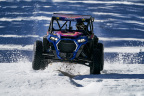 """Professional off-road racer RJ Anderson puts the terrain-dominating RZR XP Turbo S through harsh snow conditions in """"Snow Blind"""" - the first installment of new Polaris RZR VISIONS video series. (Photo: Business Wire)"""