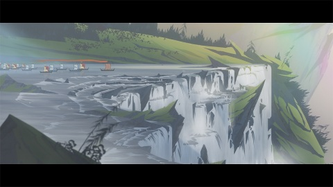The award-winning adventure continues in Banner Saga 2. This epic story-based role-playing game continues its emotional journey across a breaking world. (Graphic: Business Wire)