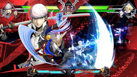 Created through an all-star collaboration between BLAZBLUE, ATLUS' Persona, French Bread's Under Night In-Birth and Rooster Teeth's hugely popular RWBY web series, CROSS TAG BATTLE celebrates the fighting genre for pros and newcomers alike. (Graphic: Business Wire)