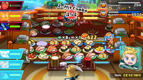 The Sushi Striker: The Way of Sushido game for the Nintendo Switch system and the Nintendo 3DS famil ...