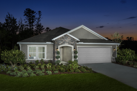 New KB homes now available in South Jacksonville. (Photo: Business Wire)