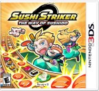 Sushi Striker: The Way of Sushido is now available on the Nintendo 3DS family of systems at a suggested retail price of $39.99. (Graphic: Business Wire)