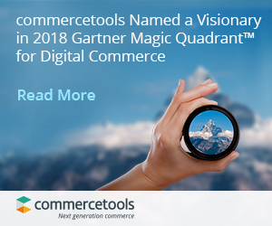 Download a copy of the Gartner Magic Quadrant for Digital Commerce (Graphic: Business Wire)