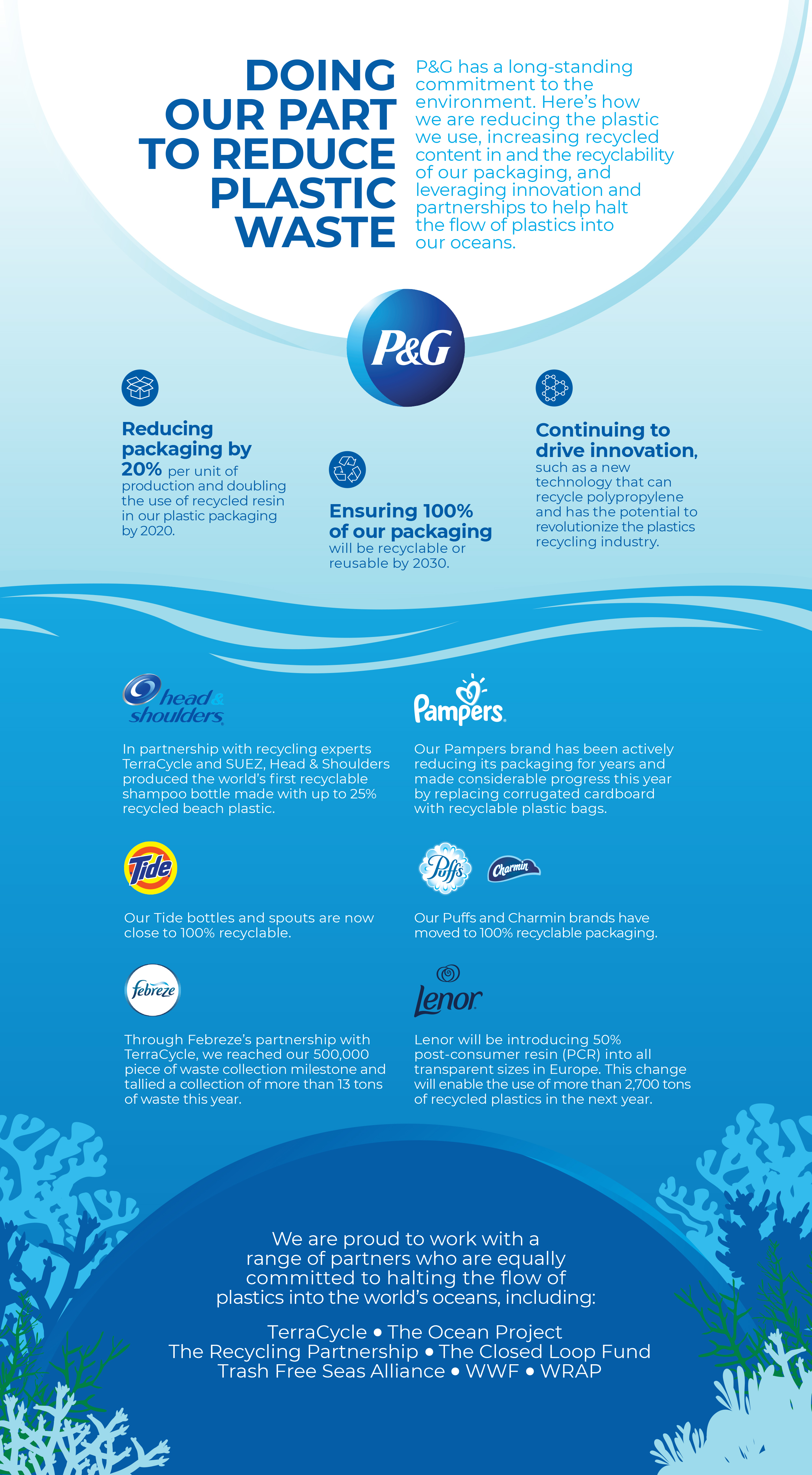 P&G Celebrates World Oceans Day | Business Wire