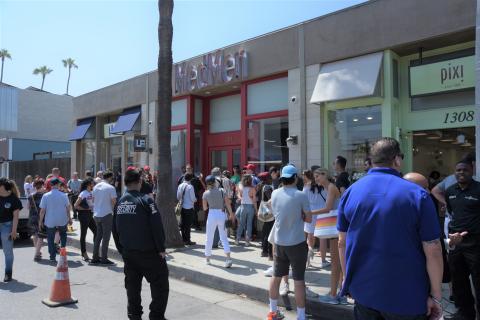 MedMen opens store on Abbot Kinney Boulevard in Venice, California. (Photo: Business Wire)
