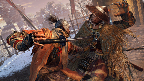 Sekiro™: Shadows Die Twice, a new action-adventure game with RPG elements from FromSoftware put players in the heart of the action. Set in the 16th-century world of Sengoku Japan, the protagonist's primary mission is to rescue his master and exact revenge on his arch nemesis.(Graphic: Business Wire)
