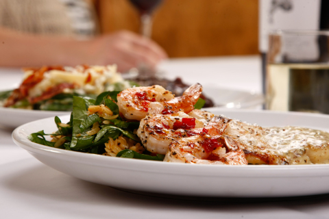 San Marino Chicken returns to the Macaroni Grill menu as a guest-selected favorite for a limited time. (Photo: Business Wire)