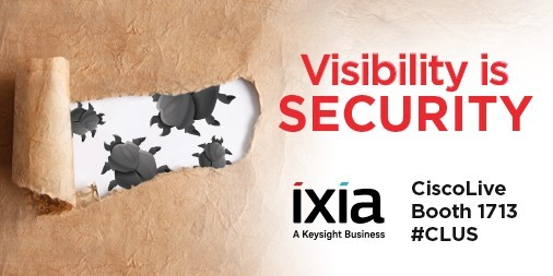 Ixia, a Keysight Business, to Showcase Solutions that Prove