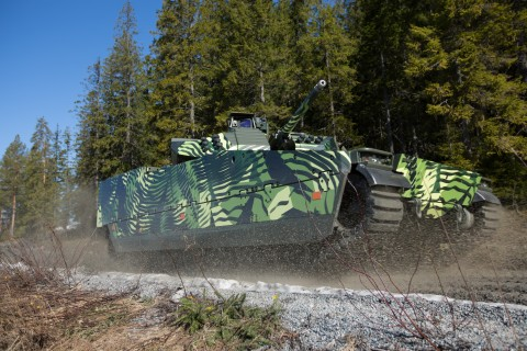Bae Systems Debuts Ifighting For Combat Vehicles At Eurosatory