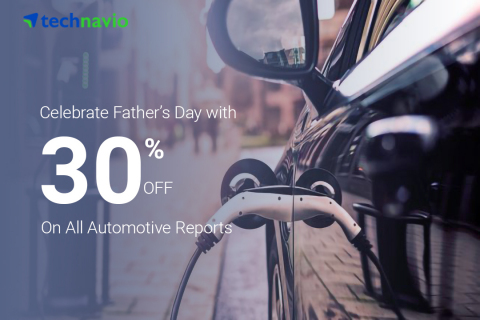 Technavio has announced a flat discount of 30% on all the reports covered under the automotive library to celebrate Father's Day. (Graphic: Business Wire)
