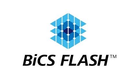 東芝メモリ株式会社:3次元フラッシュメモリ「BiCS FLASH(TM)」(画像:ビジネスワイヤ)