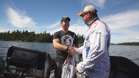 Veterans find healing, a safe environment to share their stories through Operation: Fishing Freedom (Photo: Business Wire)
